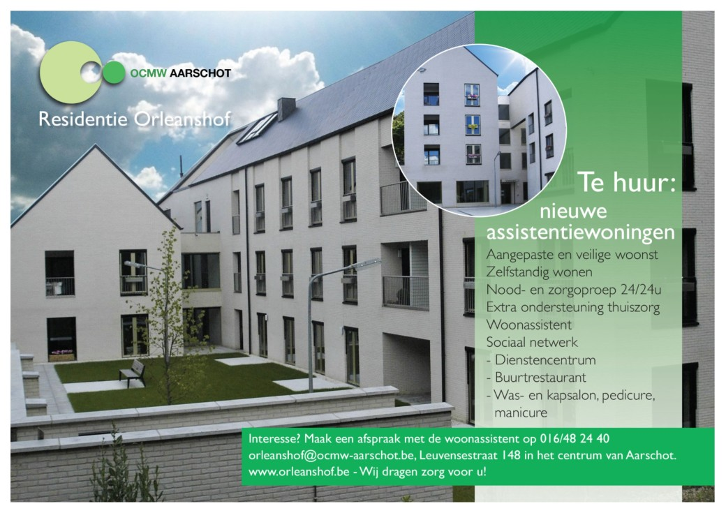 advertentie assistentiewoningen